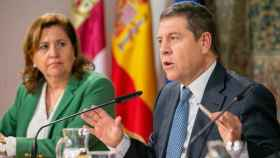 Rosa Ana Rodríguez y Emiliano García-page