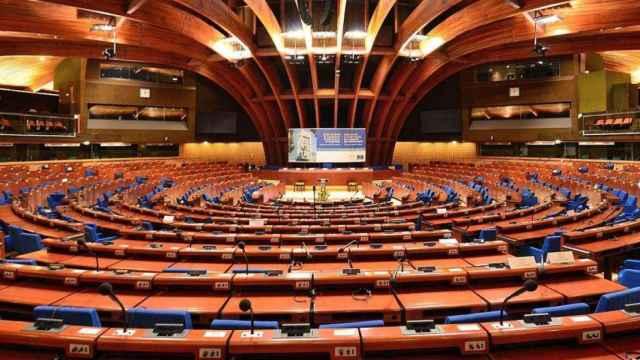 Asamblea plenaria del Consejo de Europa, en Estrasburgo (Francia).