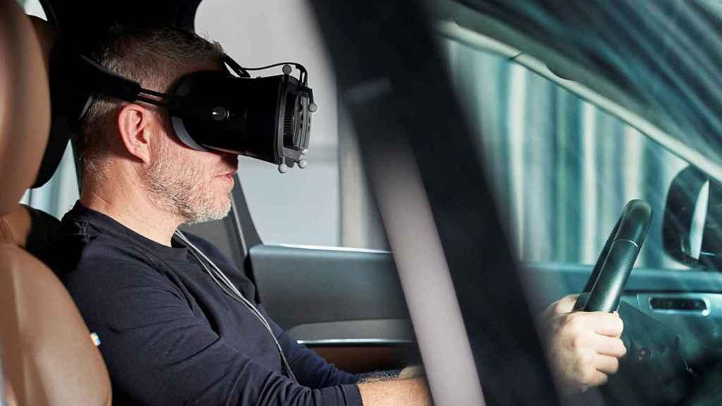 Volvo a desarrollo un simulador para la conducción.