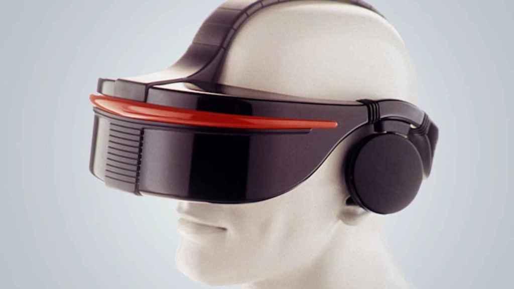 El visor de Sega VR destacaba por su diseño