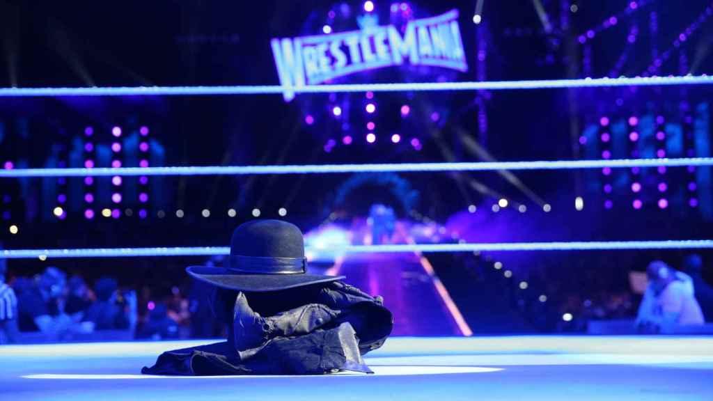 La despedida de Undertaker en Wrestlemania 33