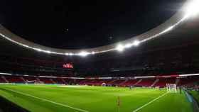 El Wanda Metropolitano antes del Atlético de Madrid - Barcelona de La Liga