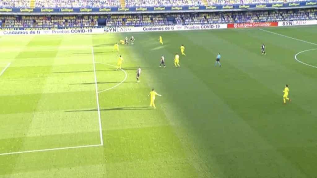 Gol legal del Real Madrid