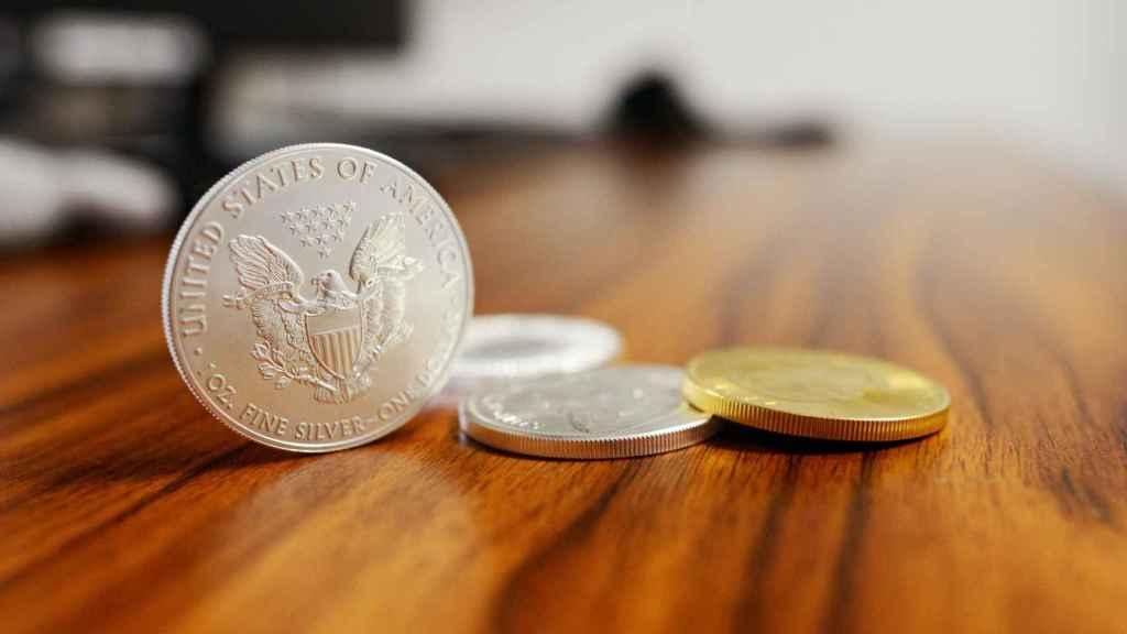 Monedas estadounidenses.