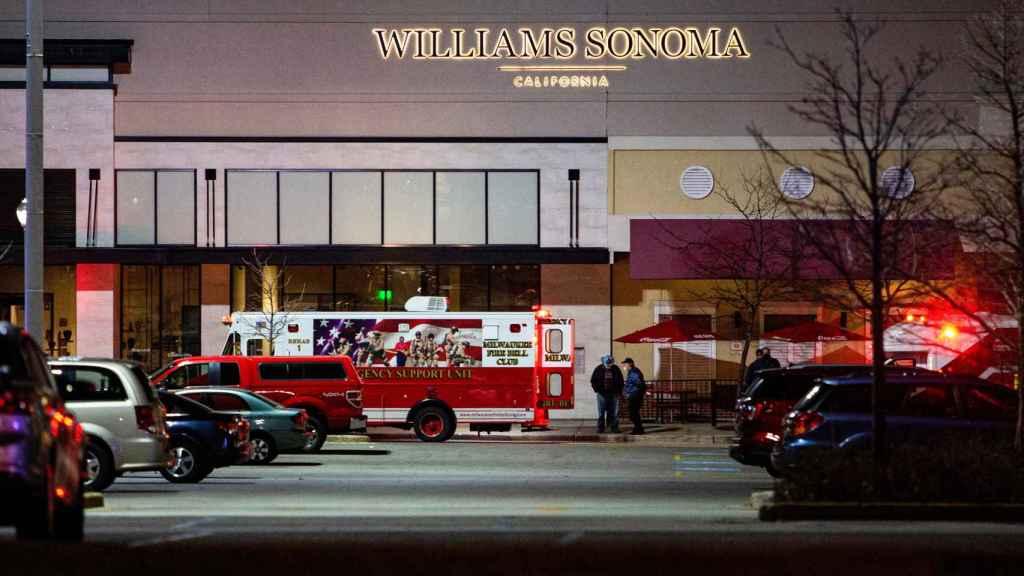 Exterior del centro comercial Mayfair Mall, en Wauwatosa (Wisconsin).