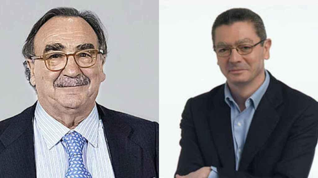 Blas Herrero y Alberto Ruiz Gallardón.