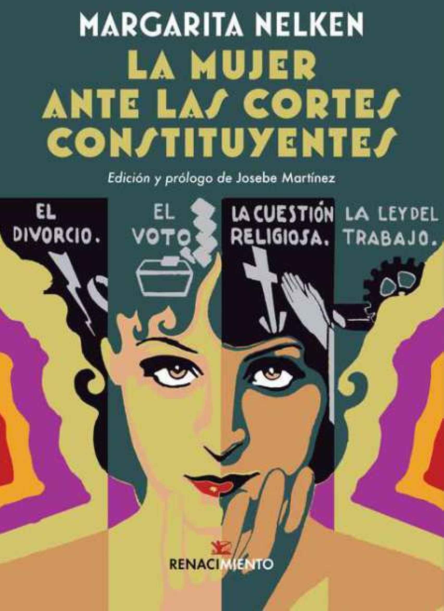 Portada de 'La mujer ante las Cortes Constituyentes'.