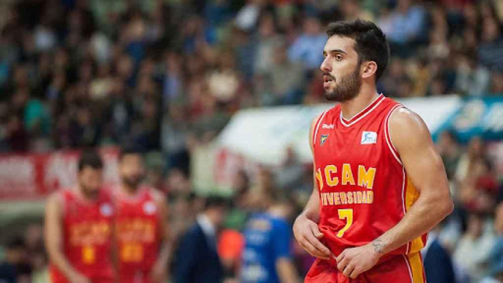 Campazzo con UCAM Murcia