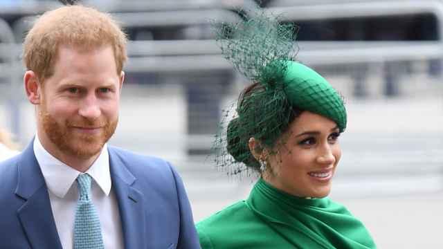 Harry y Meghan, en uno de sus últimos actos en Reino Unido.