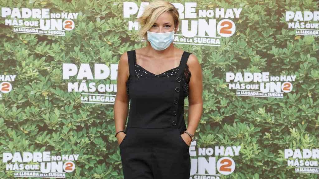 Cristina Pardo, en el estreno de 'Padre no hay más que uno 2'.
