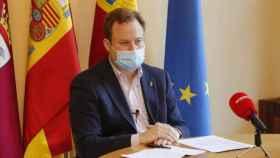 Vicente Casañ, alcalde de Albacete, en una imagen de Europa Press