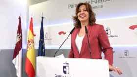 Blanca Fernández, consejera de Igualdad y portavoz del Gobierno de Castilla-La Mancha, en una imagen de archivo