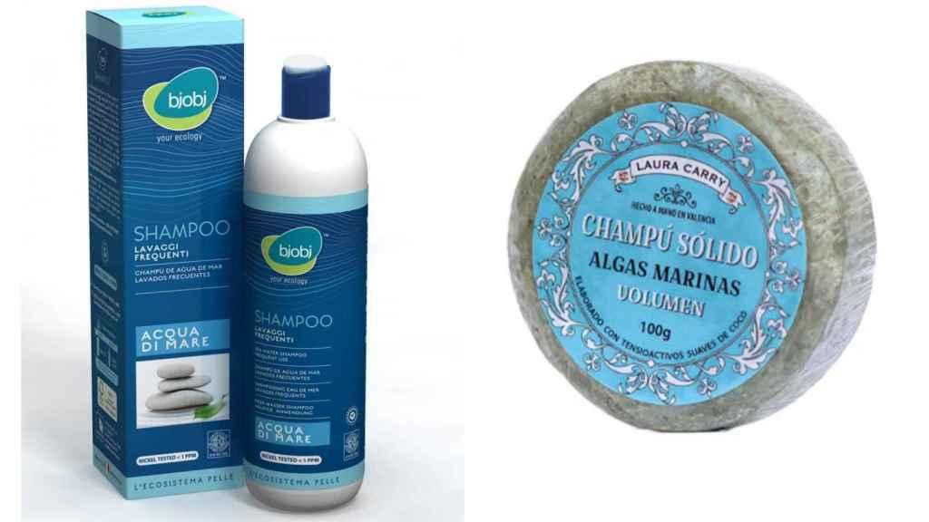 El agua de mar y las algas son componentes que ayudan a regular el pH capilar.