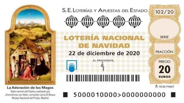 Los cuadros que han ilustrado los décimos de Lotería de Navidad en los últimos diez años