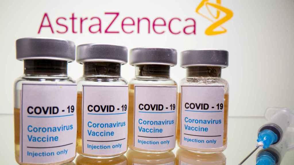 La vacuna de AstraZeneca.