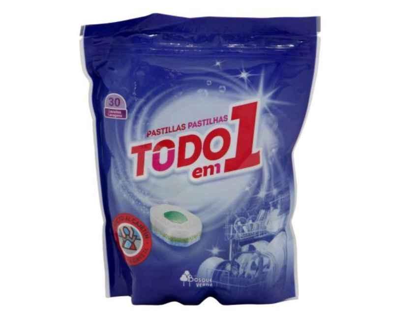 Detergente para lavavajillas de Mercadona (Bosque Verde)