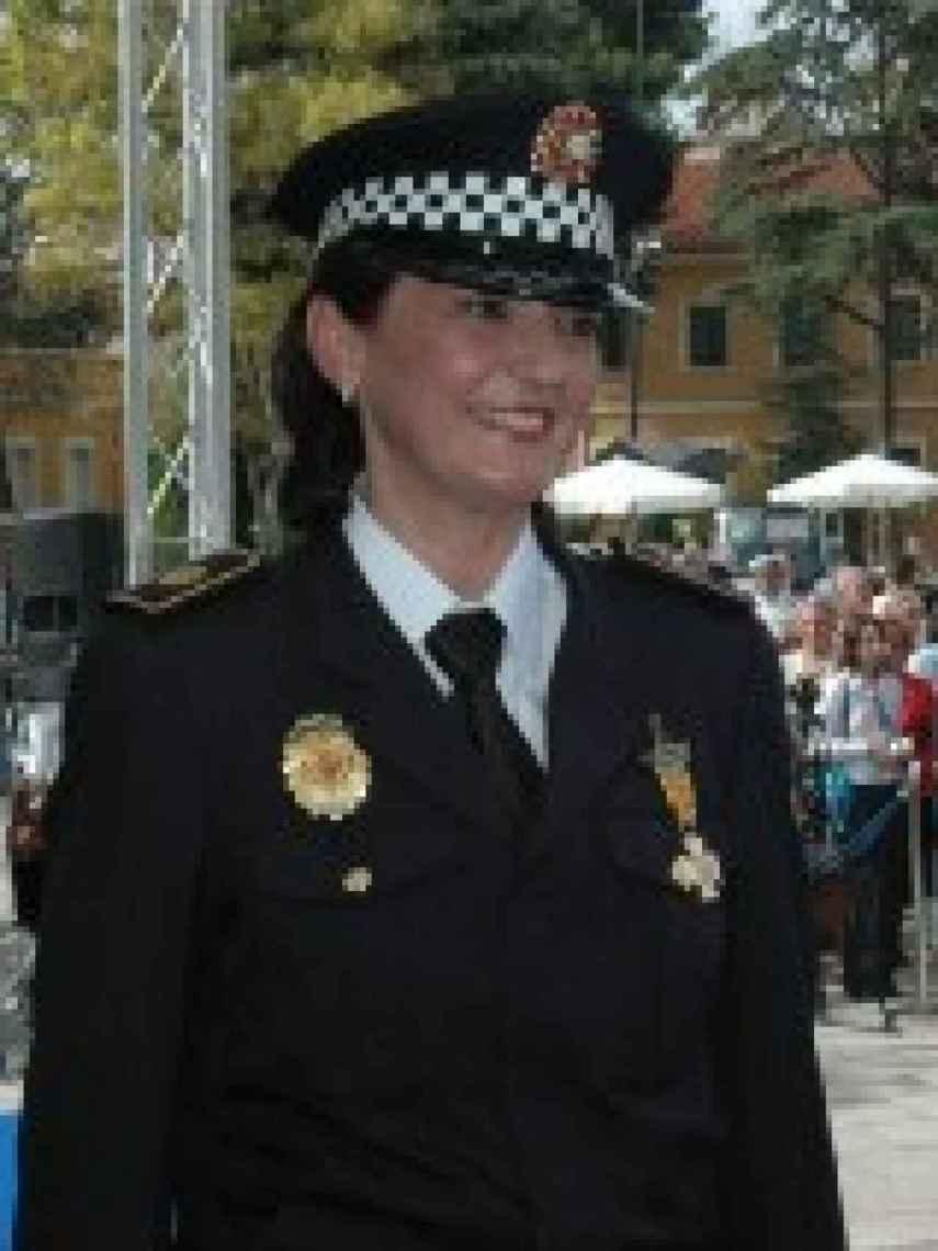 Cándida Barroso se jubiló el año pasado, tras casi 40 años en la Policía.