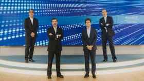 Pie de foto: De izquierda a derecha, Joseph Gelman, Amado Ramos, Silviano Andreu y Fernando López-Gamonal.