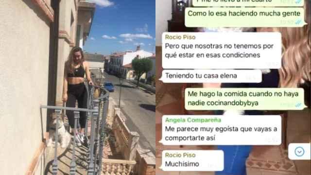 Elena Cañizares, la enfermera de Ciudad Real a la que quieren echar de su piso por tener Covid