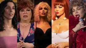 El elenco principal de 'Veneno' (Atresmedia)