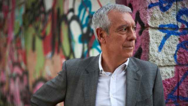 El presidente de la Comisión Catalana de Ayuda al Refugiado, Miguel Pajares, en Barcelona.