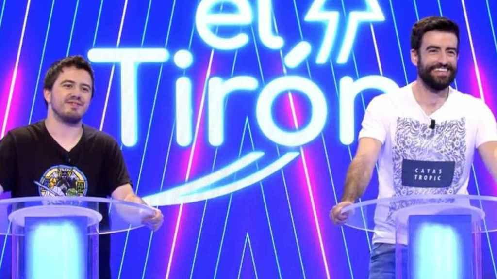 Rafa y Orestes se convirtieron en concursantes de 'El tirón' tras el final de 'Pasapalabra'.