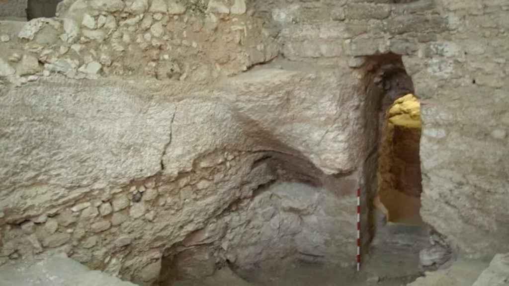 La estructura del siglo I en Nazaret.