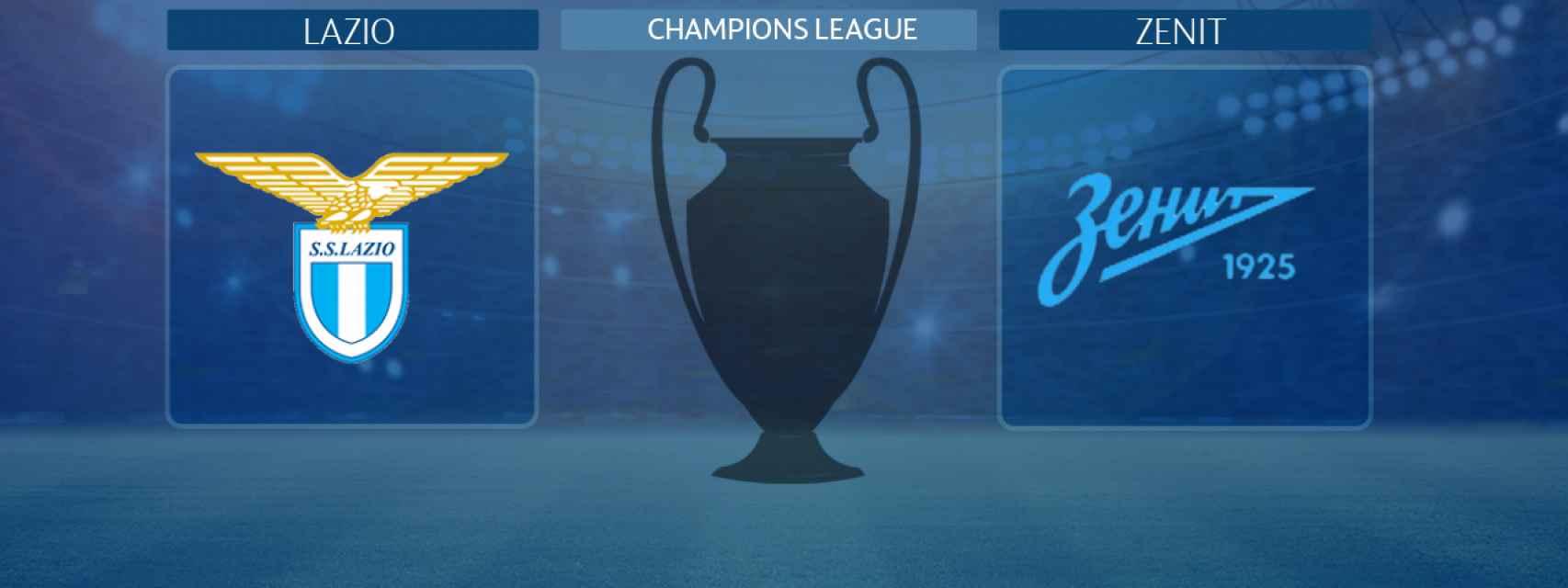 Lazio - Zenit, partido de la Champions League
