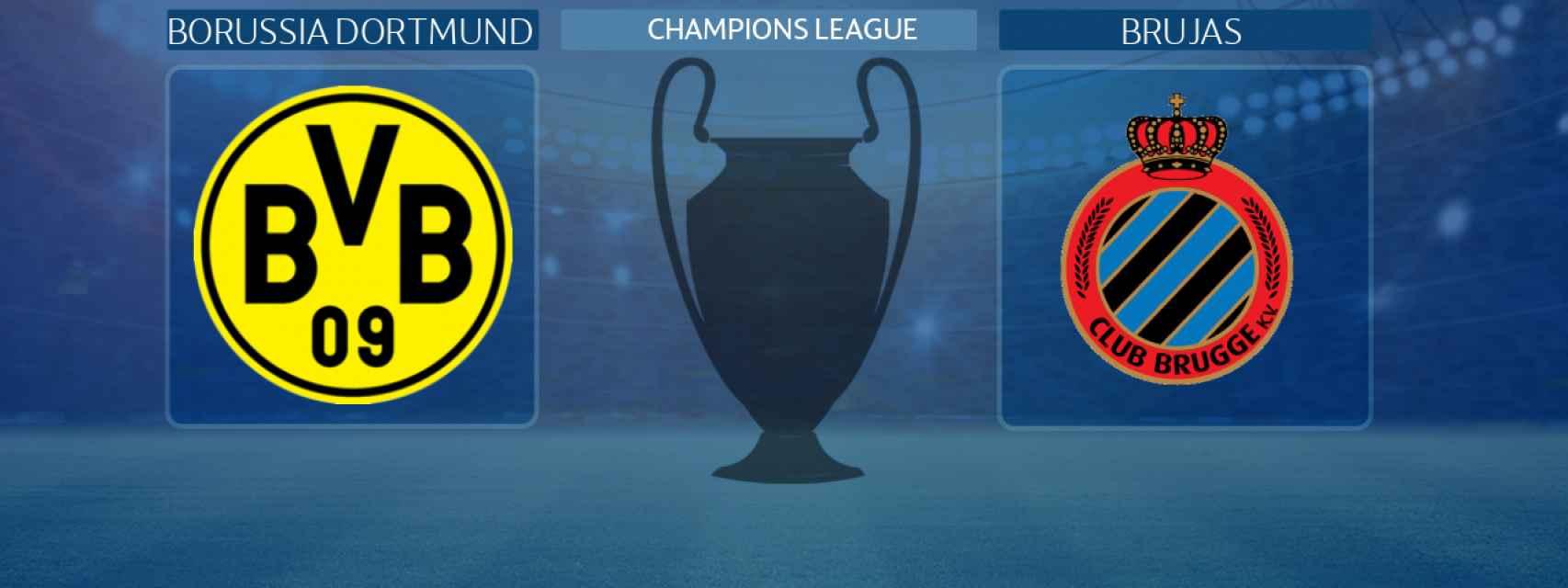 Borussia Dortmund - Brujas, partido de la Champions League
