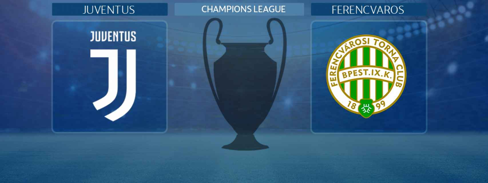 Juventus - Ferencvaros, partido de la Champions League