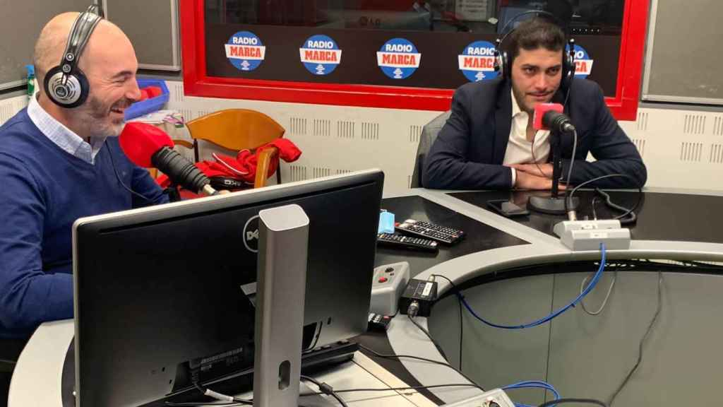 Jorge Calabrés en Radio MARCA