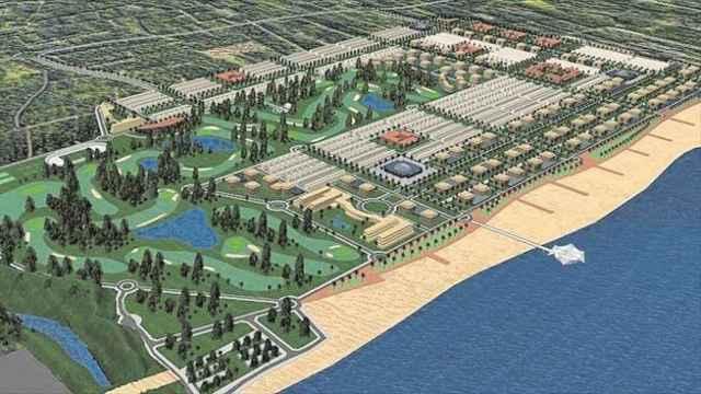 Figuración inicial del PAI Golf San Gregori. EE