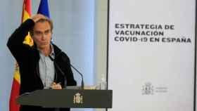 El director del Centro de Coordinación de Alertas y Emergencias Sanitarias (CCAES), Fernando Simón, este jueves.