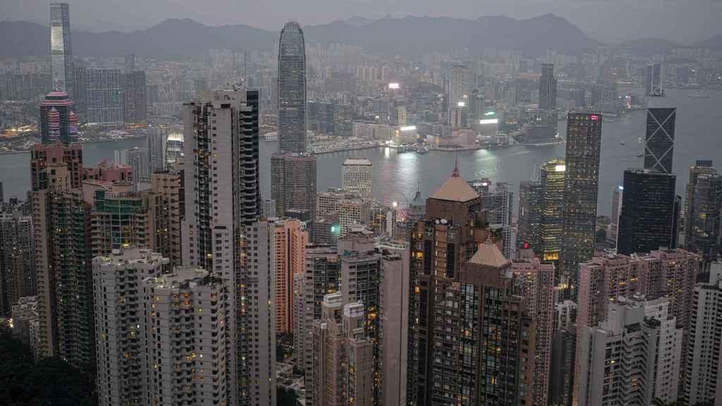 Vista panorámica de Hong Kong. EFE/EPA/Jerome Favre.