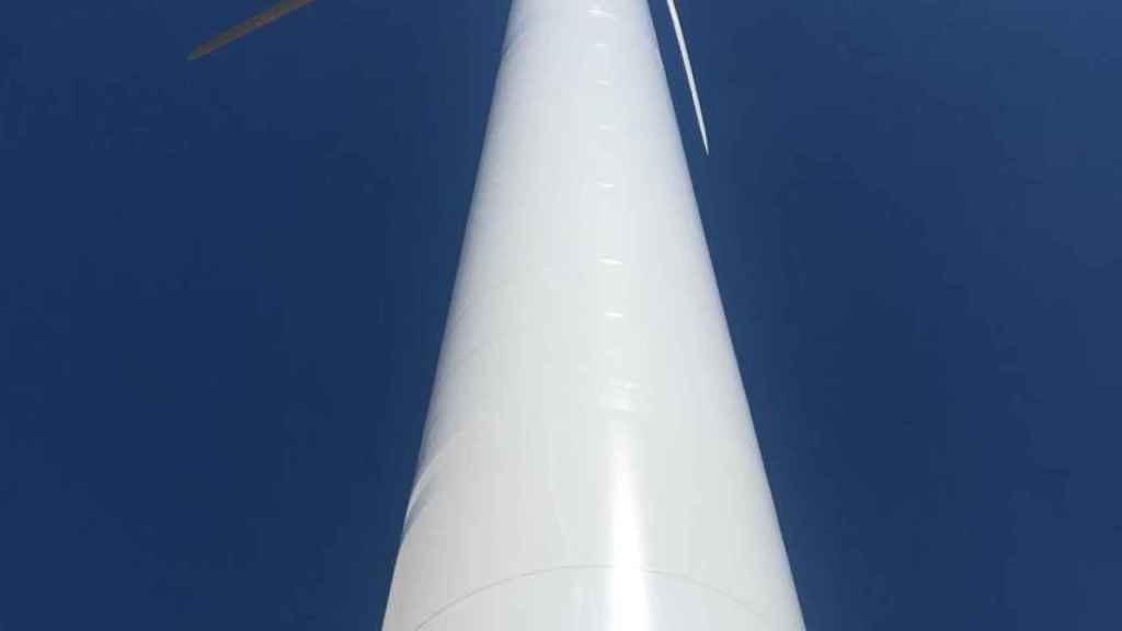 EDPR instala los aerogeneradores más grandes de España en un parque eólico de Burgos