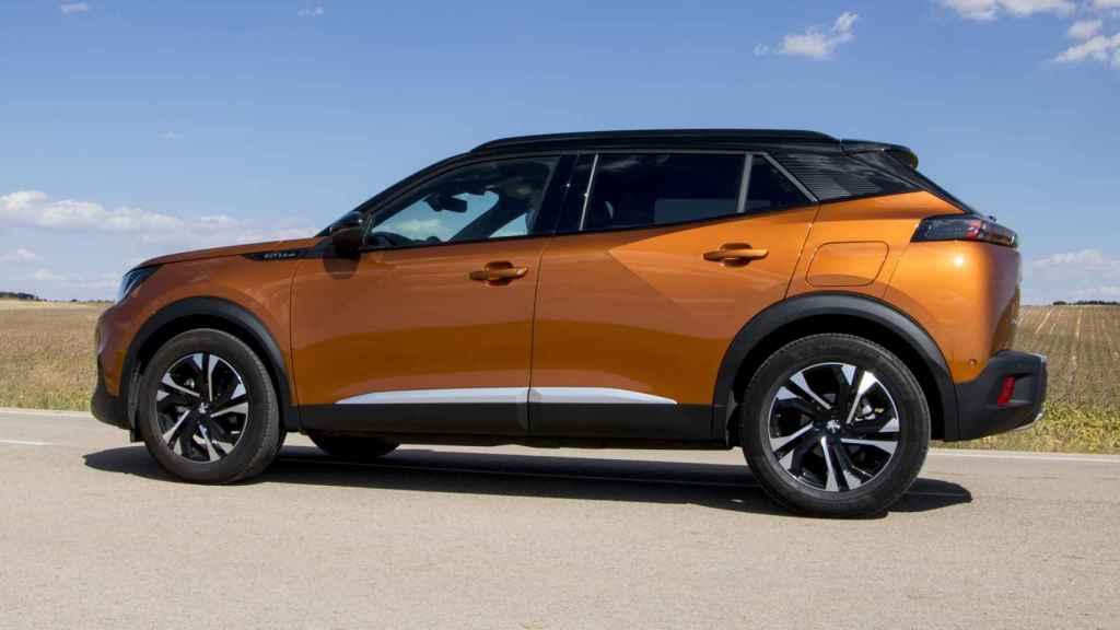 El nuevo Peugeot 2008 es de los modelos más grandes de la categoría.