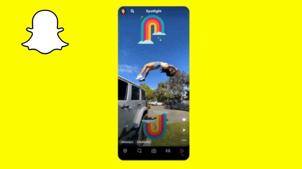 Así es Spotlight, el TikTok de Snapchat