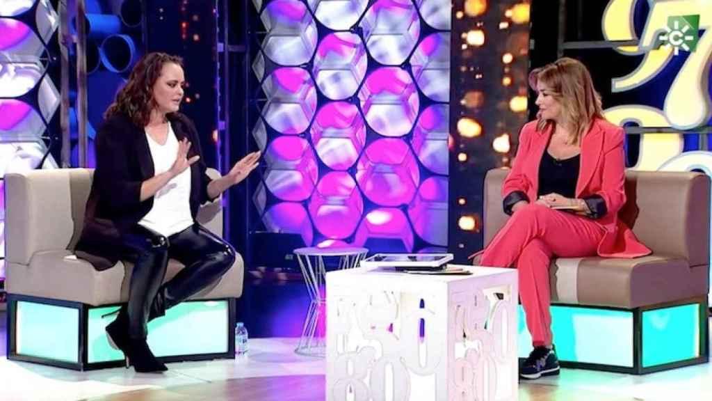Shaila Dúrcal junto a Toñi Moreno en 'Un año de tu vida'.