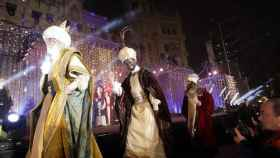 La Cabalgata de Reyes en Madrid.