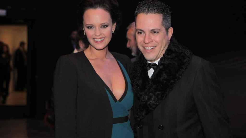 Shaila Dúrcal junto a su marido, Dorio Ferreira.
