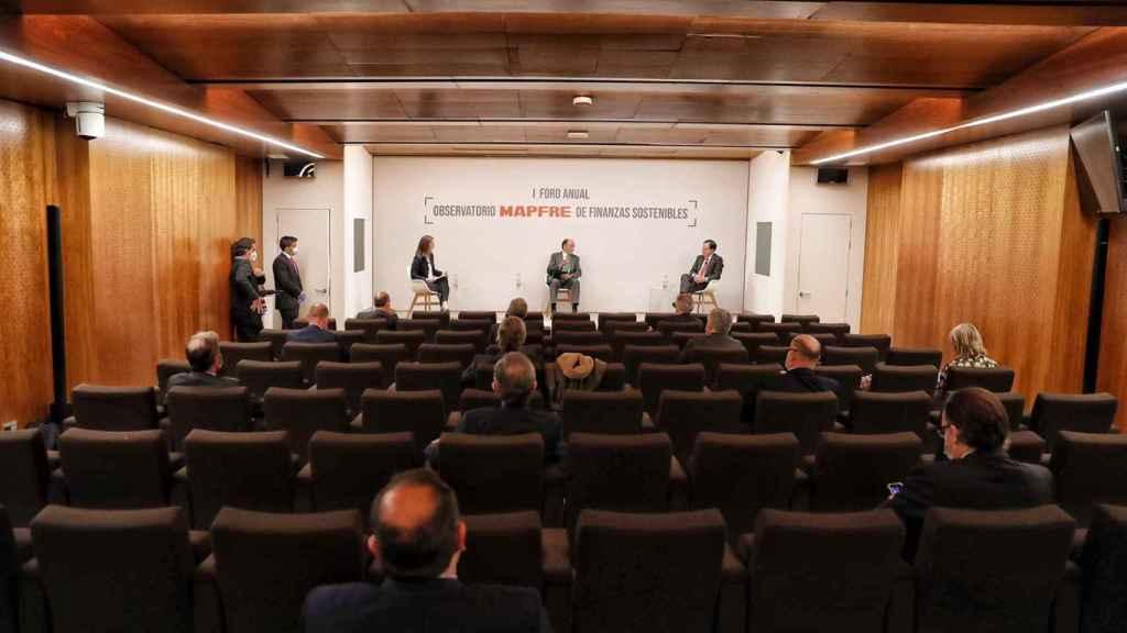 I Foro del Observatorio Mapfre de Finanzas Sostenibles, organizado por Mapfre con la colaboración de EL ESPAÑOL e Invertia.
