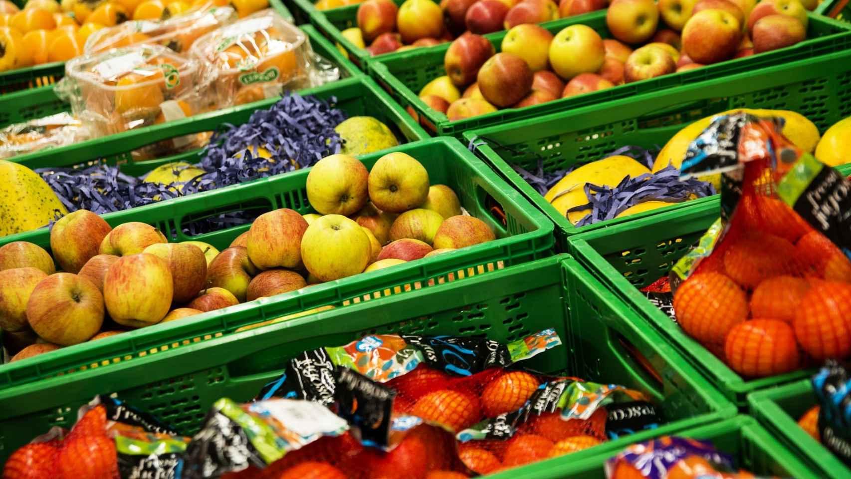 Una imagen de una frutería.