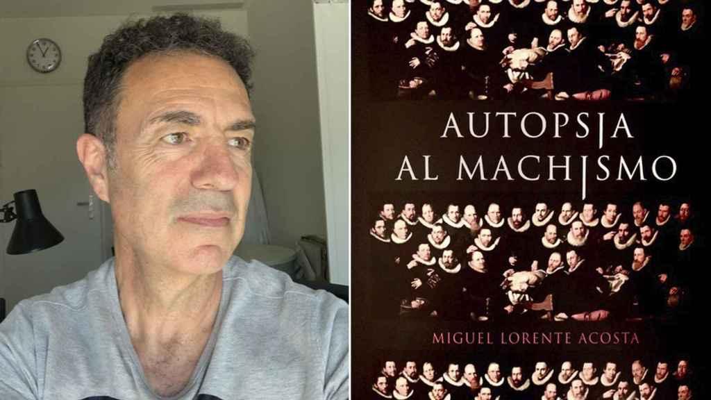 Miguel Lorente y su libro 'Autopsia del Machismo'.