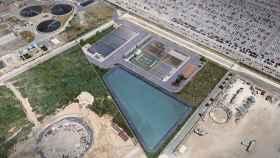 CaixaBank ha financiado la construcción de una planta de tratamiento de aguas residuales de Aitasa.