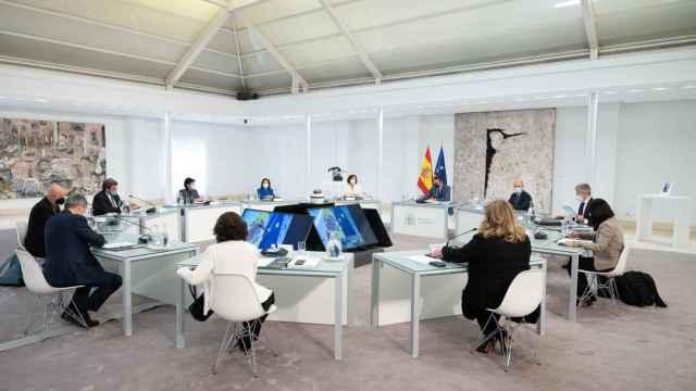 Reunión del Gobierno con elPatronato del Centro Memorial Víctimas del Terrorismo.