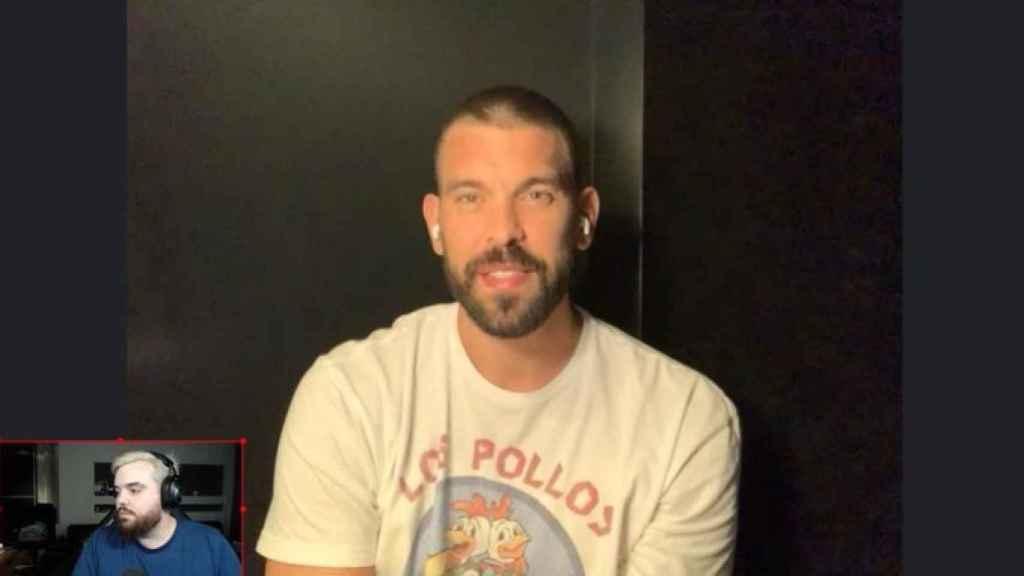 Marc Gasol entrevistado por Ibai Llanos