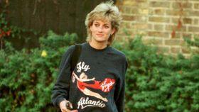 Lady Di puso de moda las sudaderas anchas y de estilo deportivo.