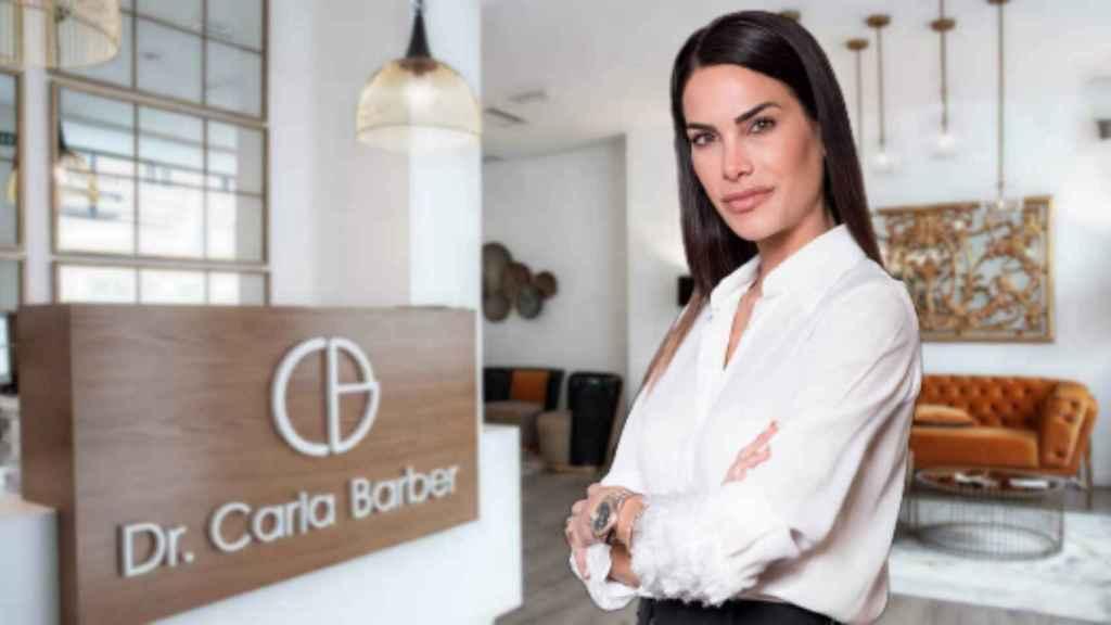 Carla Barber en montaje de JALEOS.