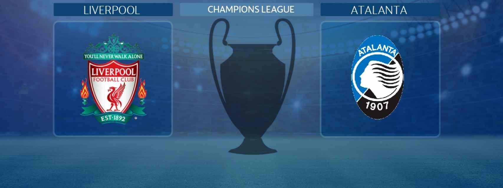 Liverpool - Atalanta, partido de la Champions League