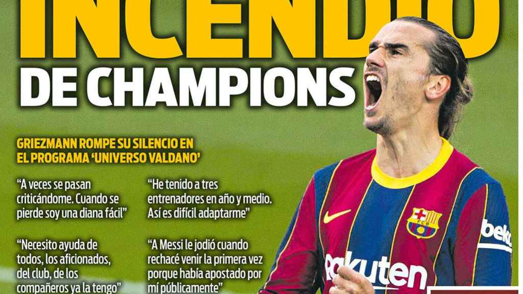 Portada Sport (24/11/20)